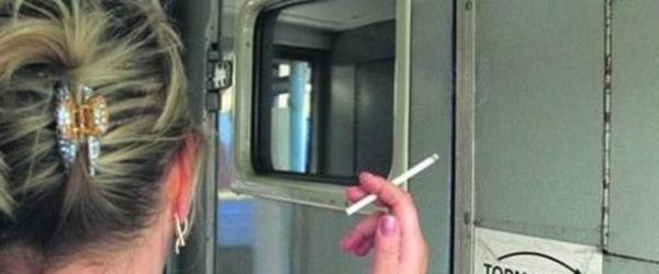 Где можно курить в поезде