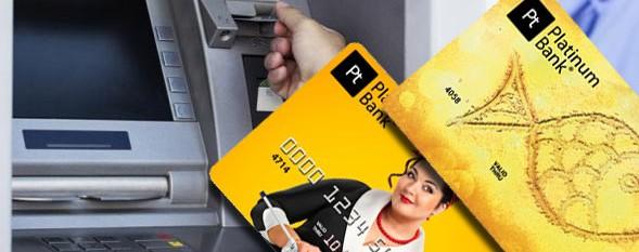 Снять деньги с Платинум банк